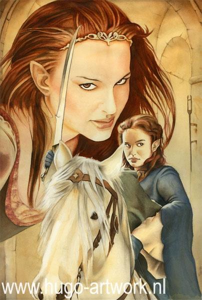 Natalie Portman by HugoBaur